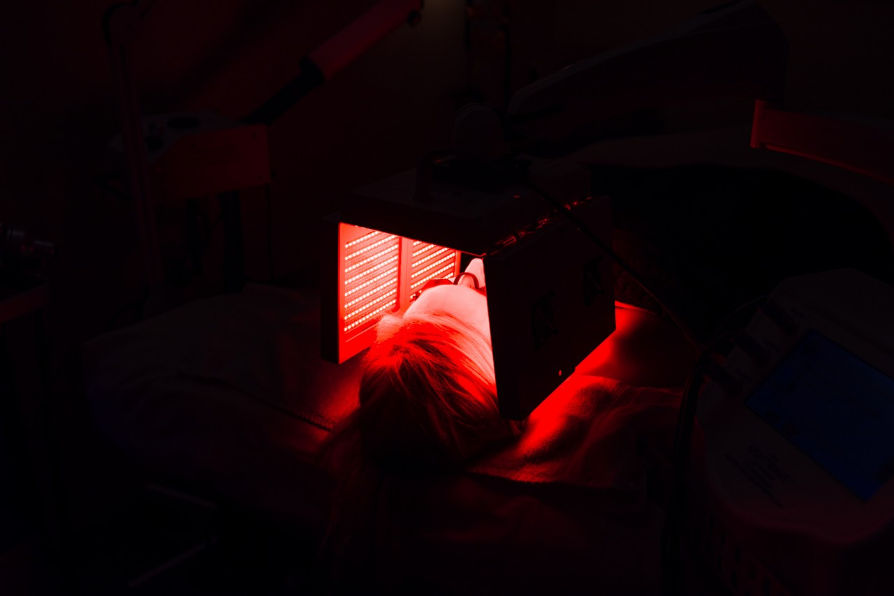 Led Red Light for Healing and Anti Aging Treatments